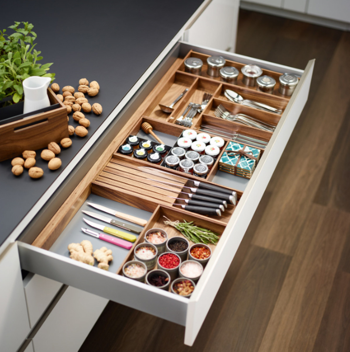 Richelieu Has New Drawer Divider System