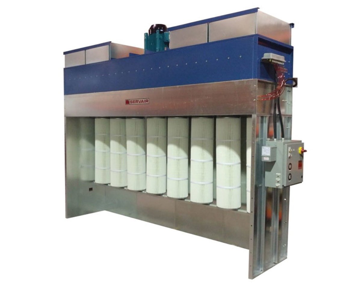 Servair's SPB Batch Powder Booth