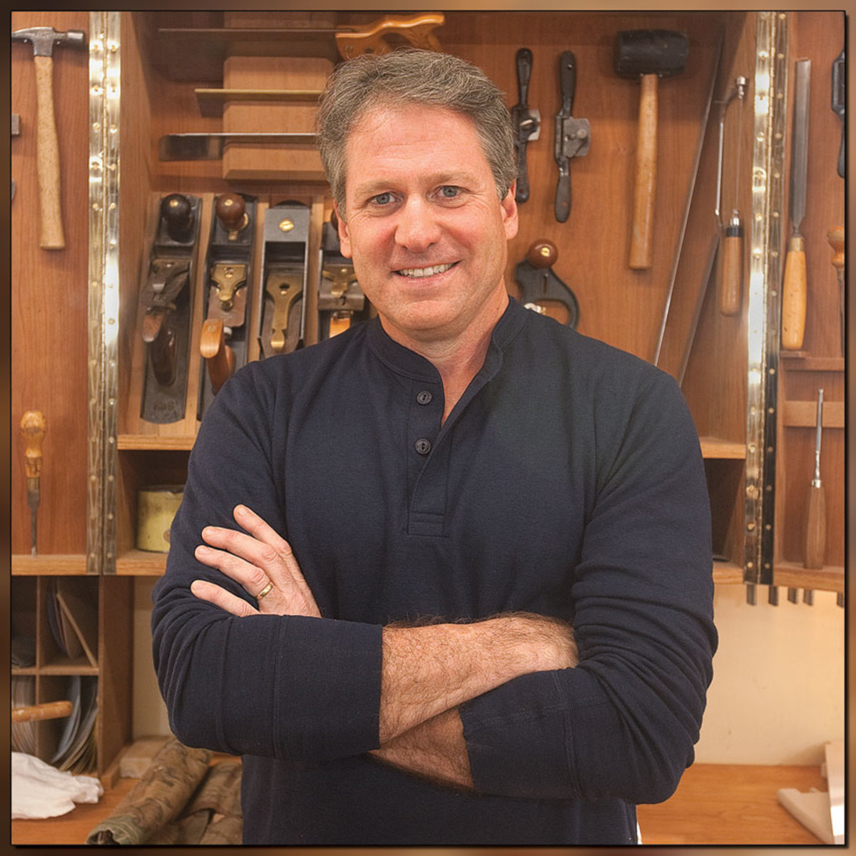 "Professional woodworker and teacher Tom McLaughlin is hosting the eighth season of ""Rough Cut with Fine Wooworking"" on PBS."
