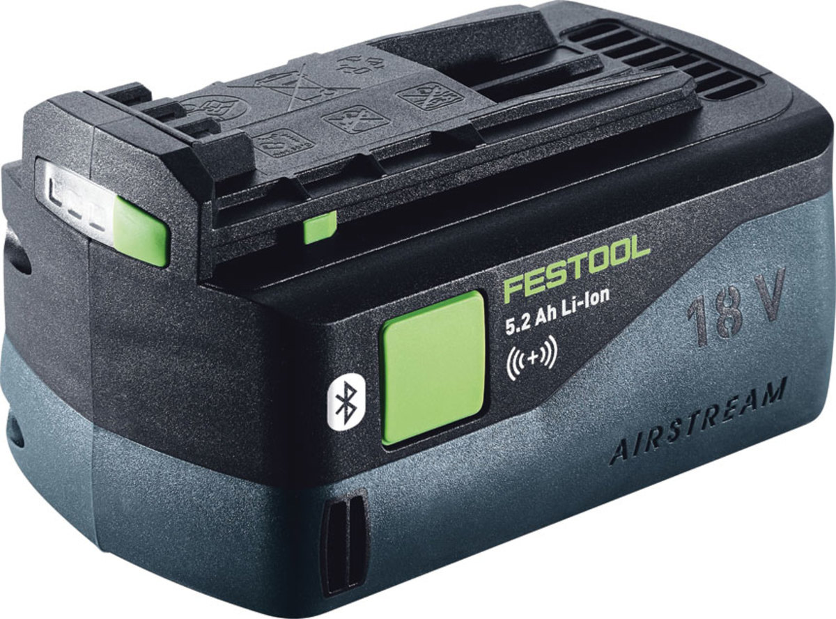 Festool's new Bluetooth battery