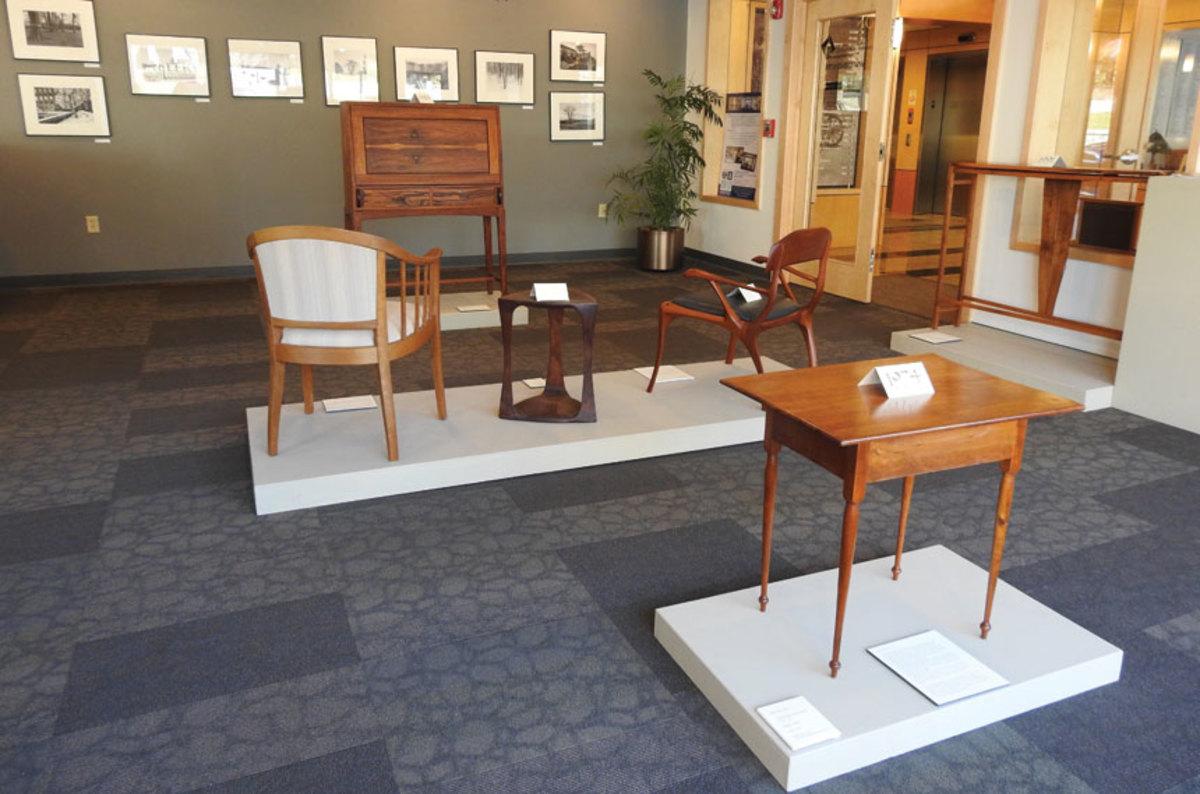 NHFMA's exhibit in Concord, N.H.