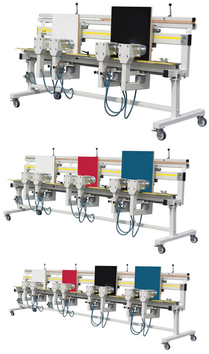 Hoffmann Mobil edge banding presses