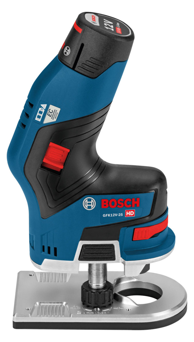 New Cordless Router From Bosch Woodshop News