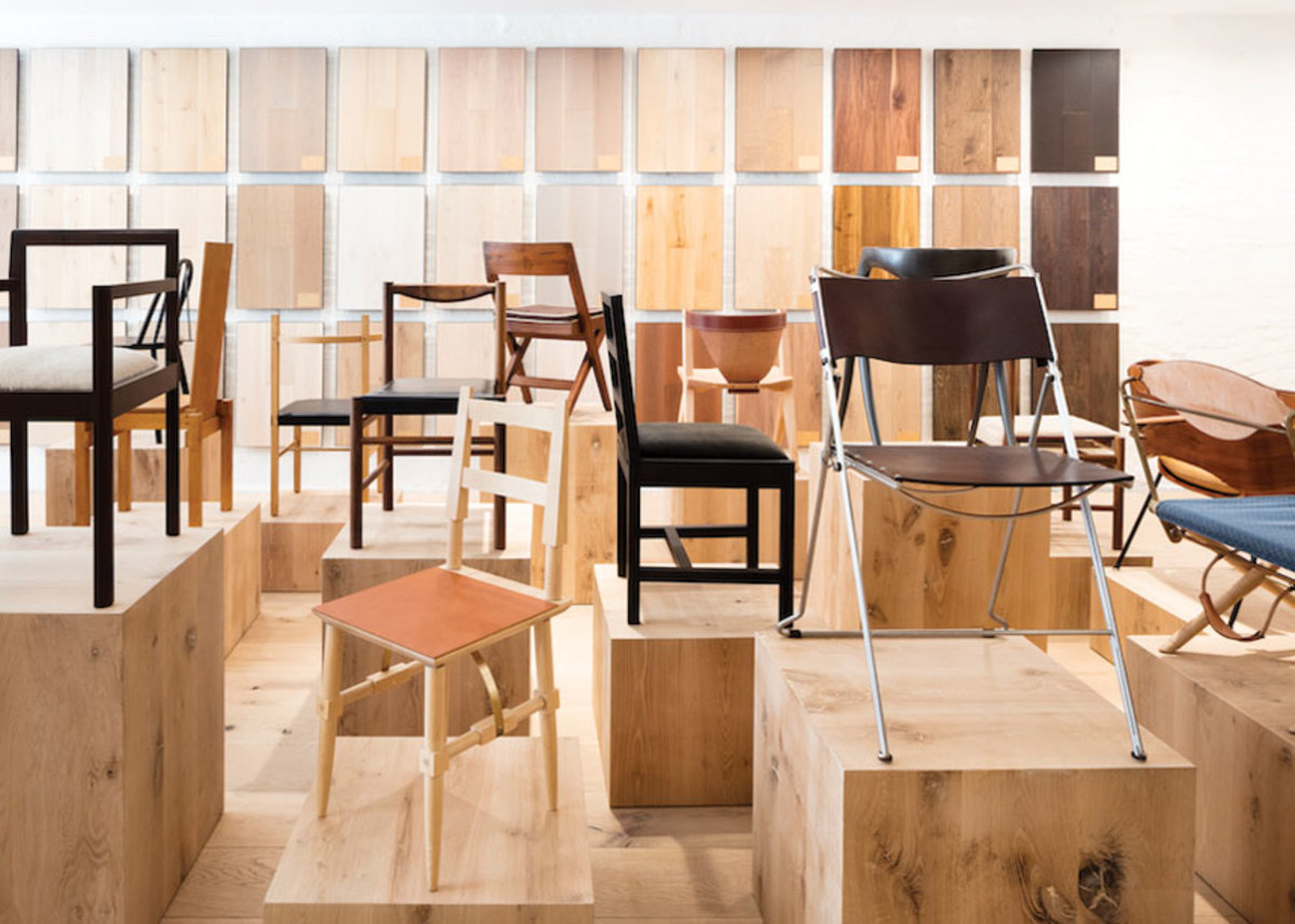 "The 24 chairs in the ""Sitting Still"" exhibit represented over 50 years of artful design."