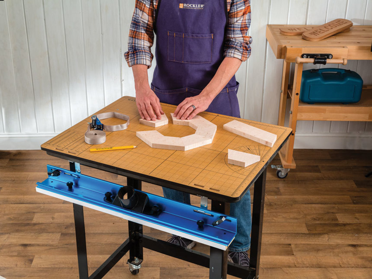 Rockler adds router table worktop woodshop news increase work space without taking up more floor space an easy to install removable worktop that quickly converts a router table into a usable surface keyboard keysfo Choice Image