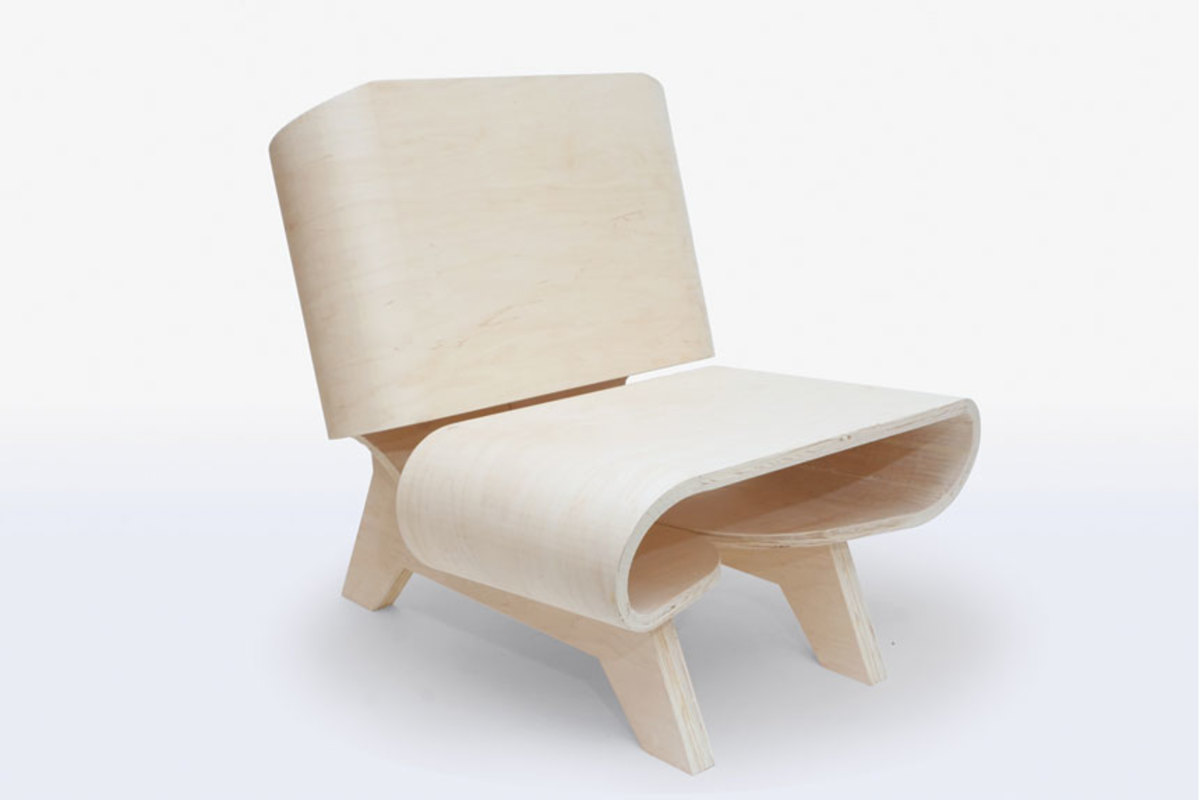 This bentwood chair by Sami Chi took second.