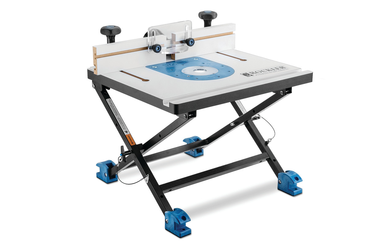 New convertible router table from rockler woodshop news rockler woodworking and hardware has introduced a portable router table system that allows the user to switch from table routing to handheld routing and greentooth Images