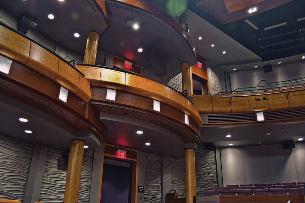 The Performing Arts Center at James Madison University.