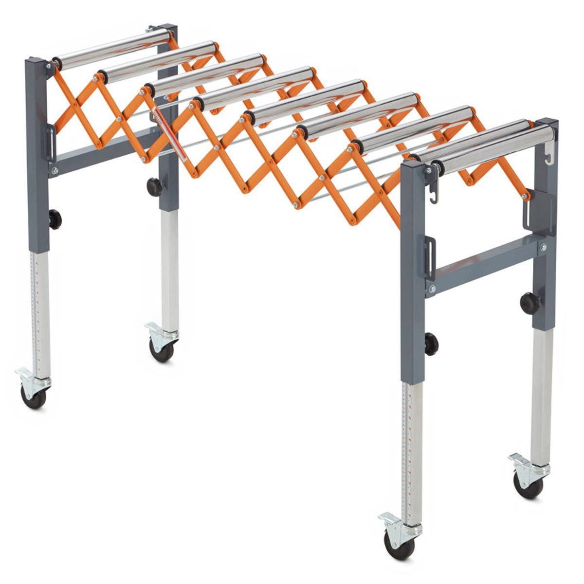 New Portable Conveyor Roller From Bora Tool Woodshop News