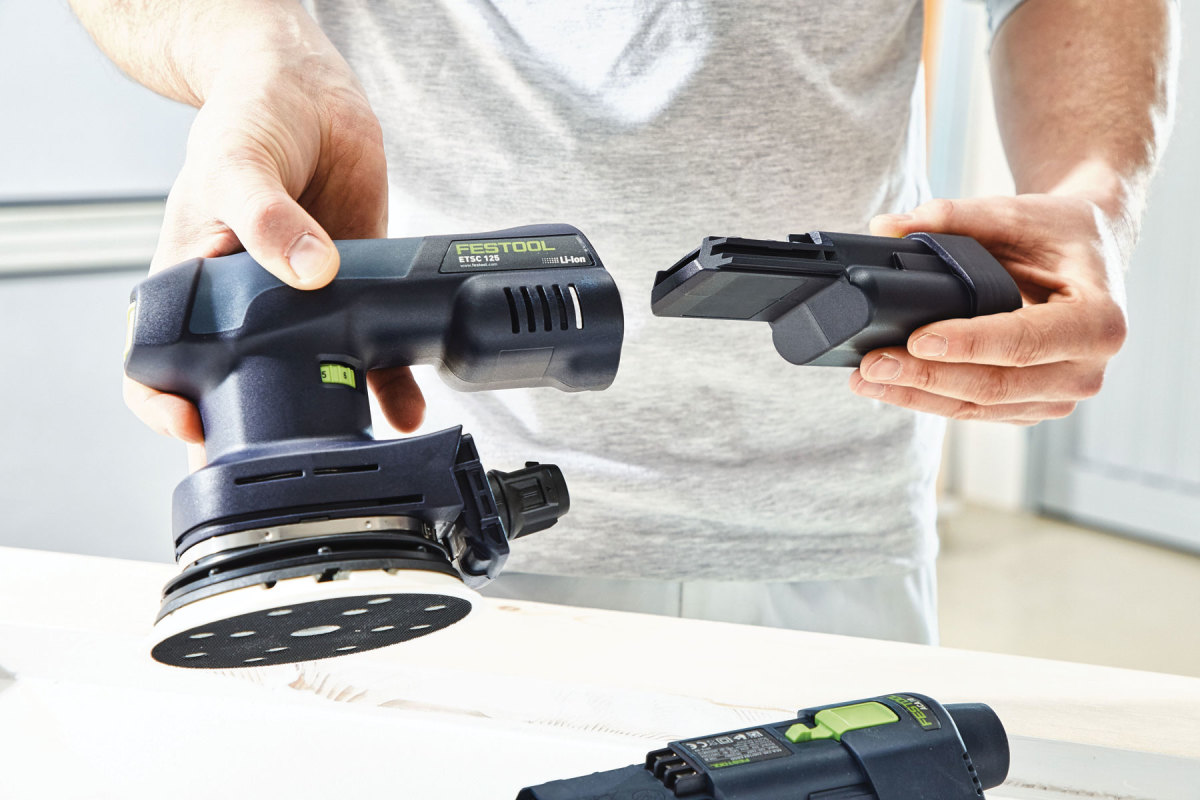 Photo of Festool sander