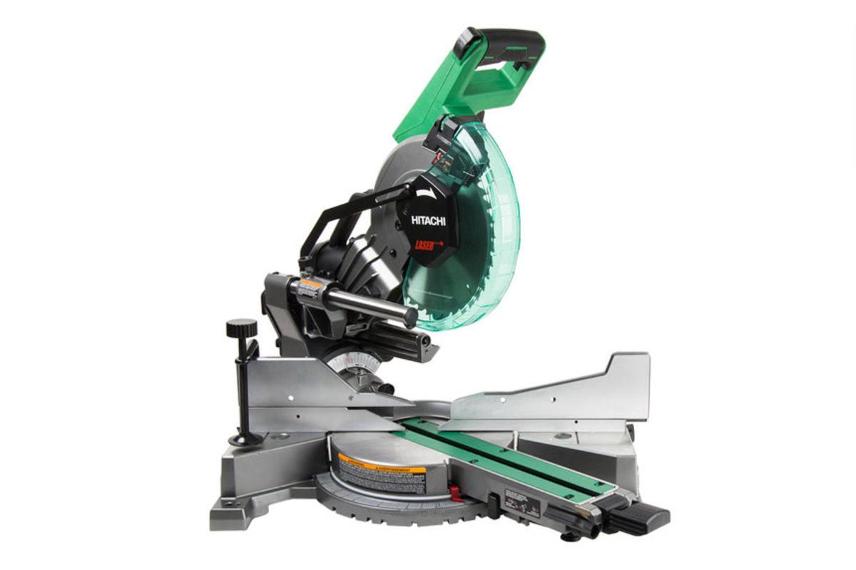 hitachi chop saw. hitachi-10-in-sliding-dual-compound-miter-saw hitachi chop saw