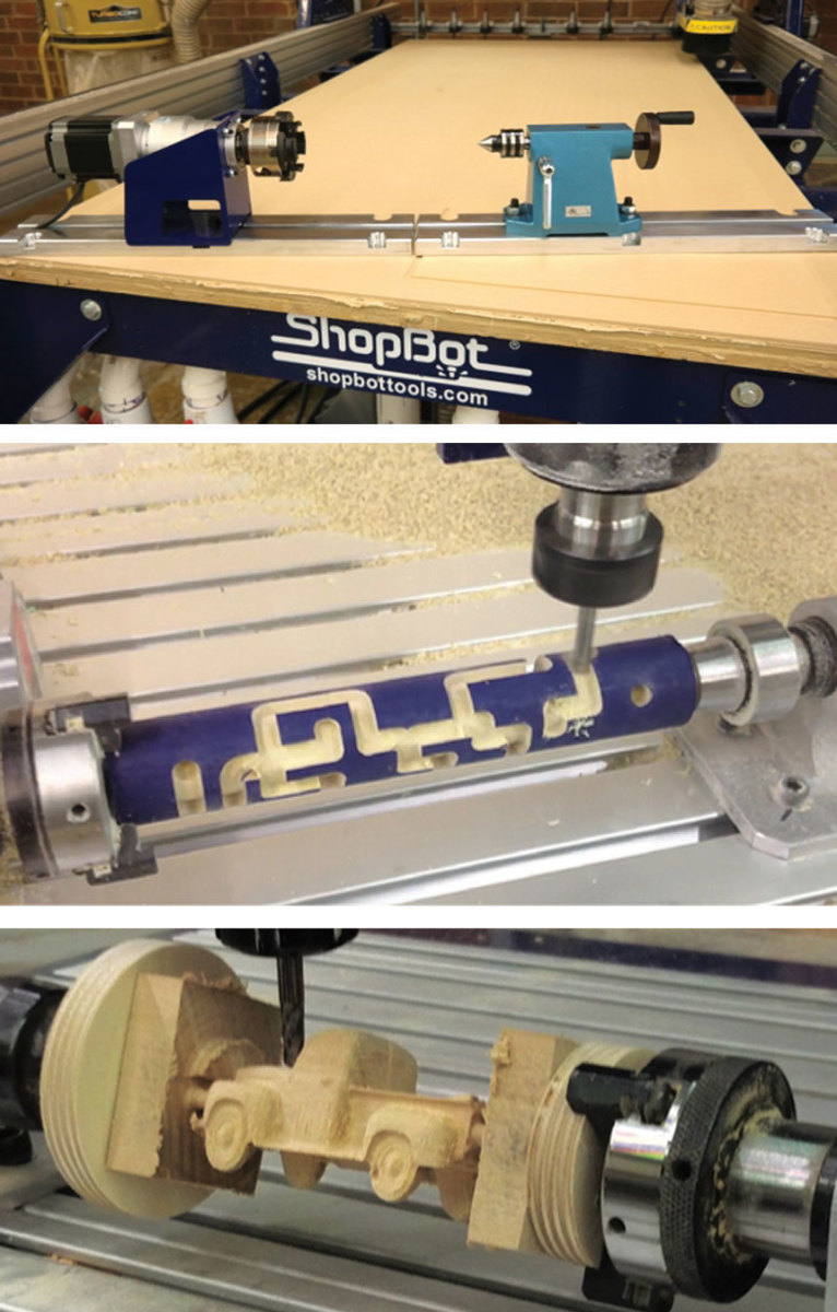 ShopBot's Rotary Indexer.
