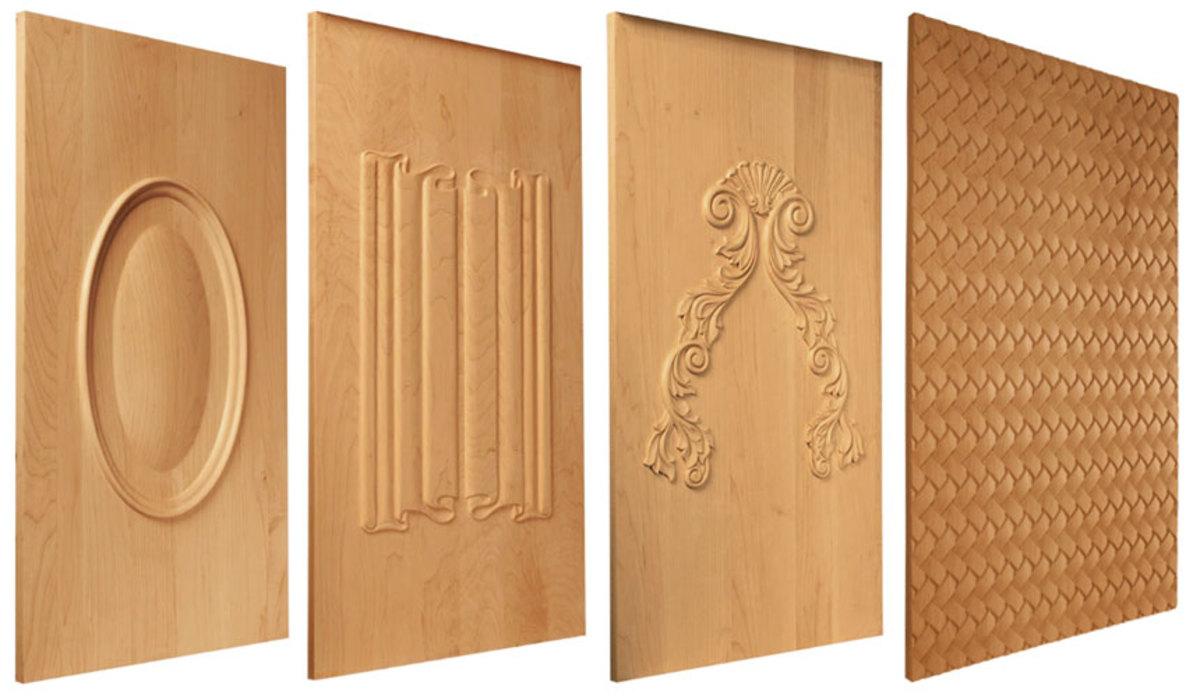 Door panels from Osborne Wood Products.