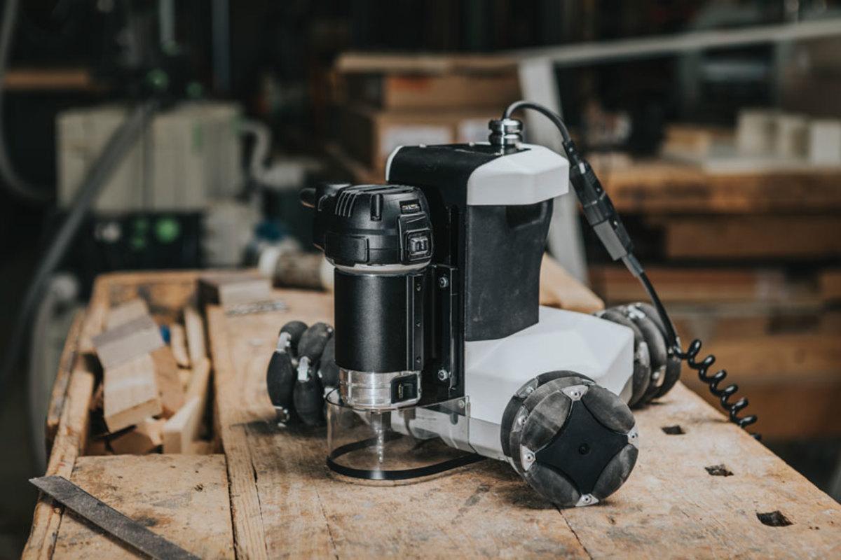 The Goliath, a portable digital fabrication tool.