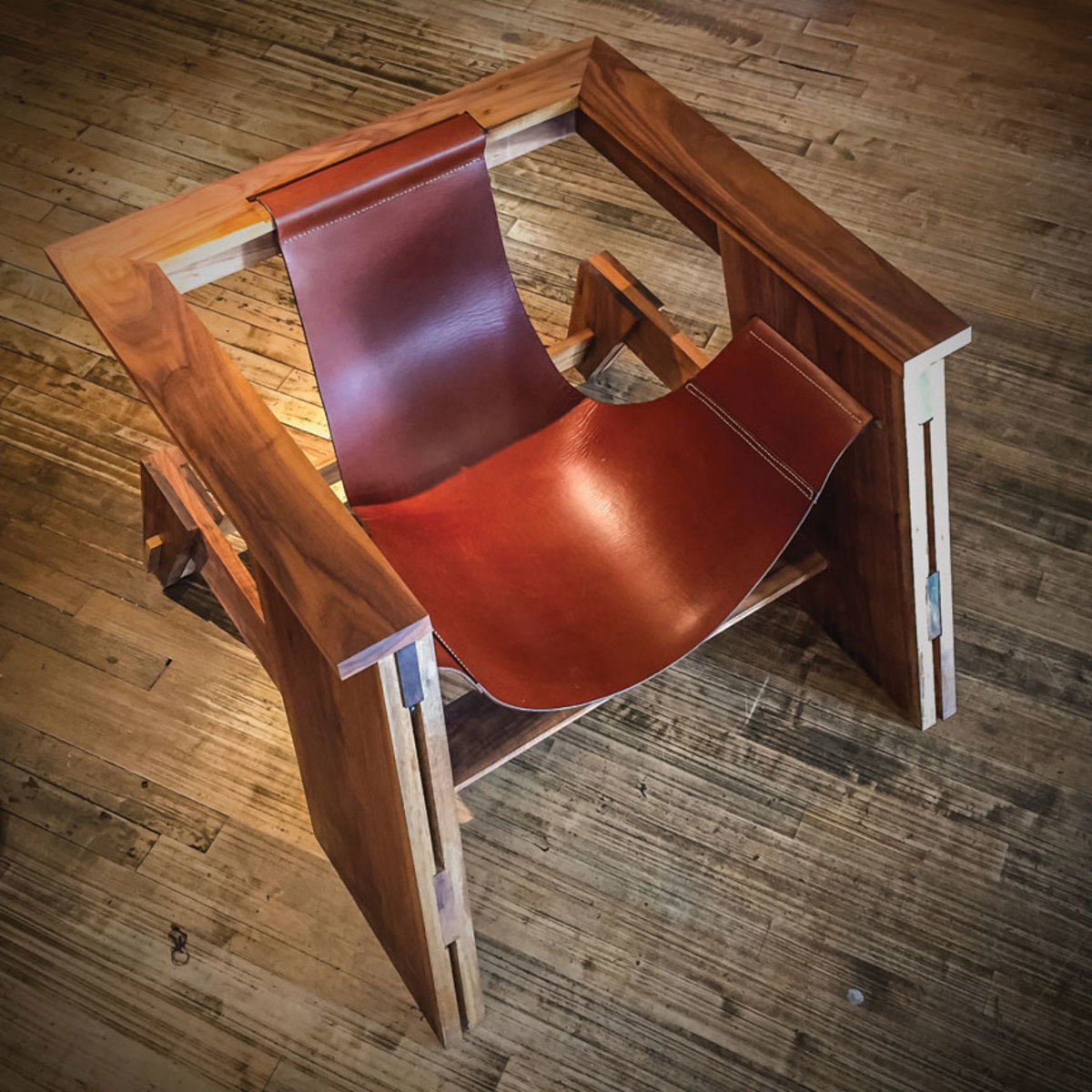 This chair by Matt Edwards won the People's Choice award at Vellum 13 in 2016.