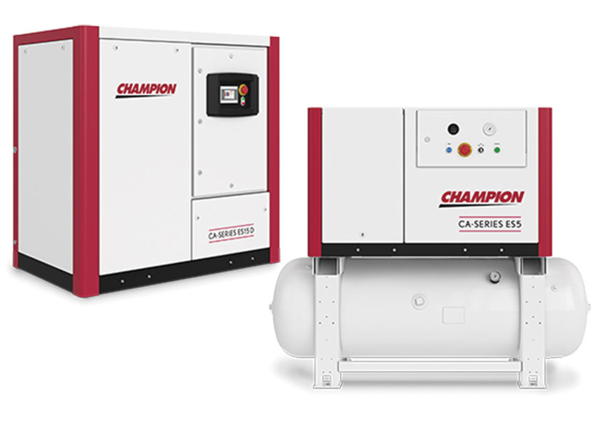 Champion Pneumatic offers fully-enclosed, oil-less, rotary scroll compressors.