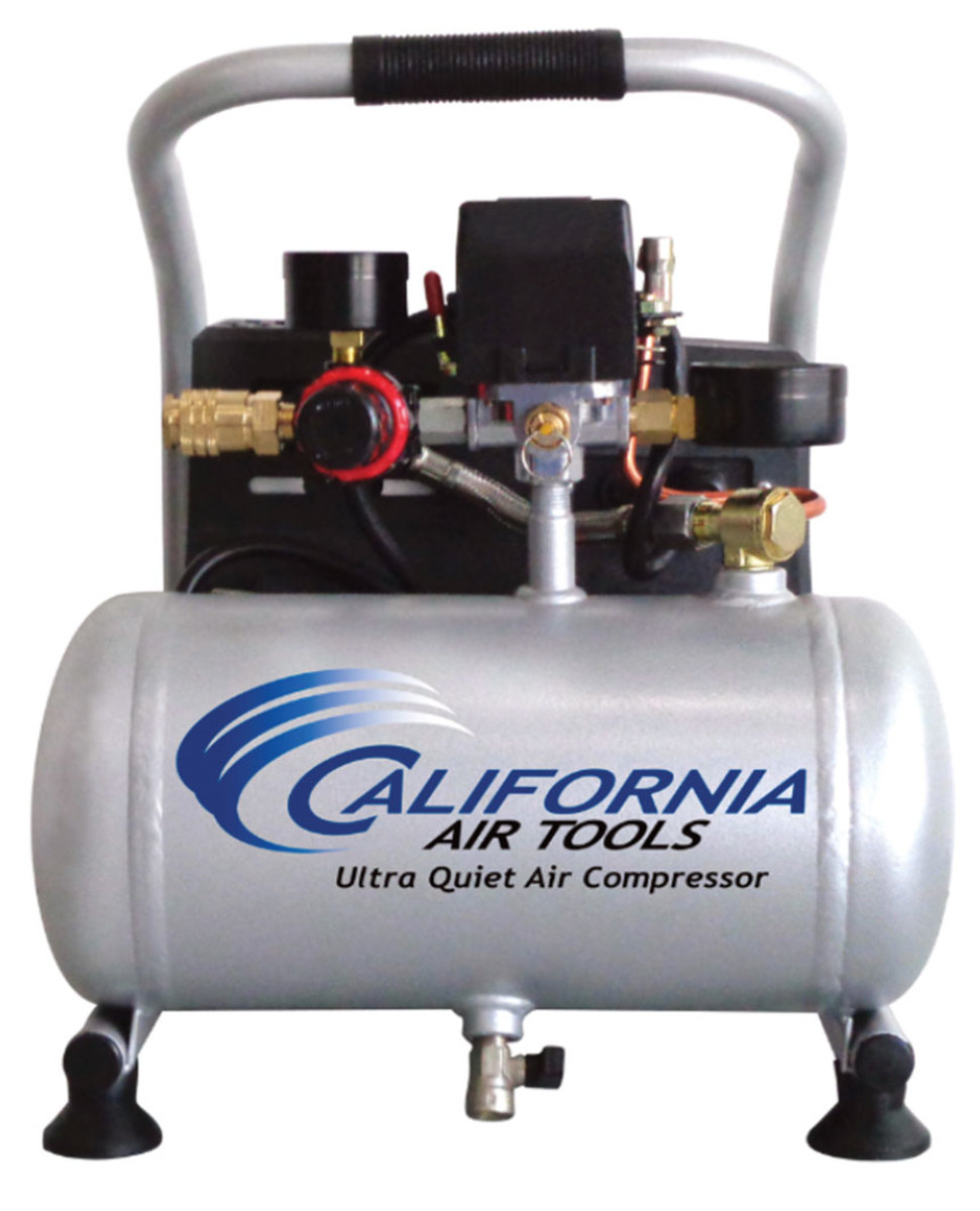 The Light & Quiet compressor from California Air Tools.