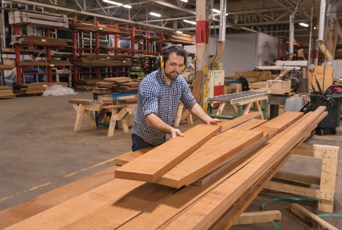 A lack of skilled labor is one of the biggest issues facing the wood industry.