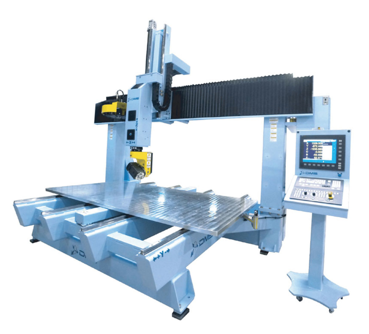 The DMS 5-axis