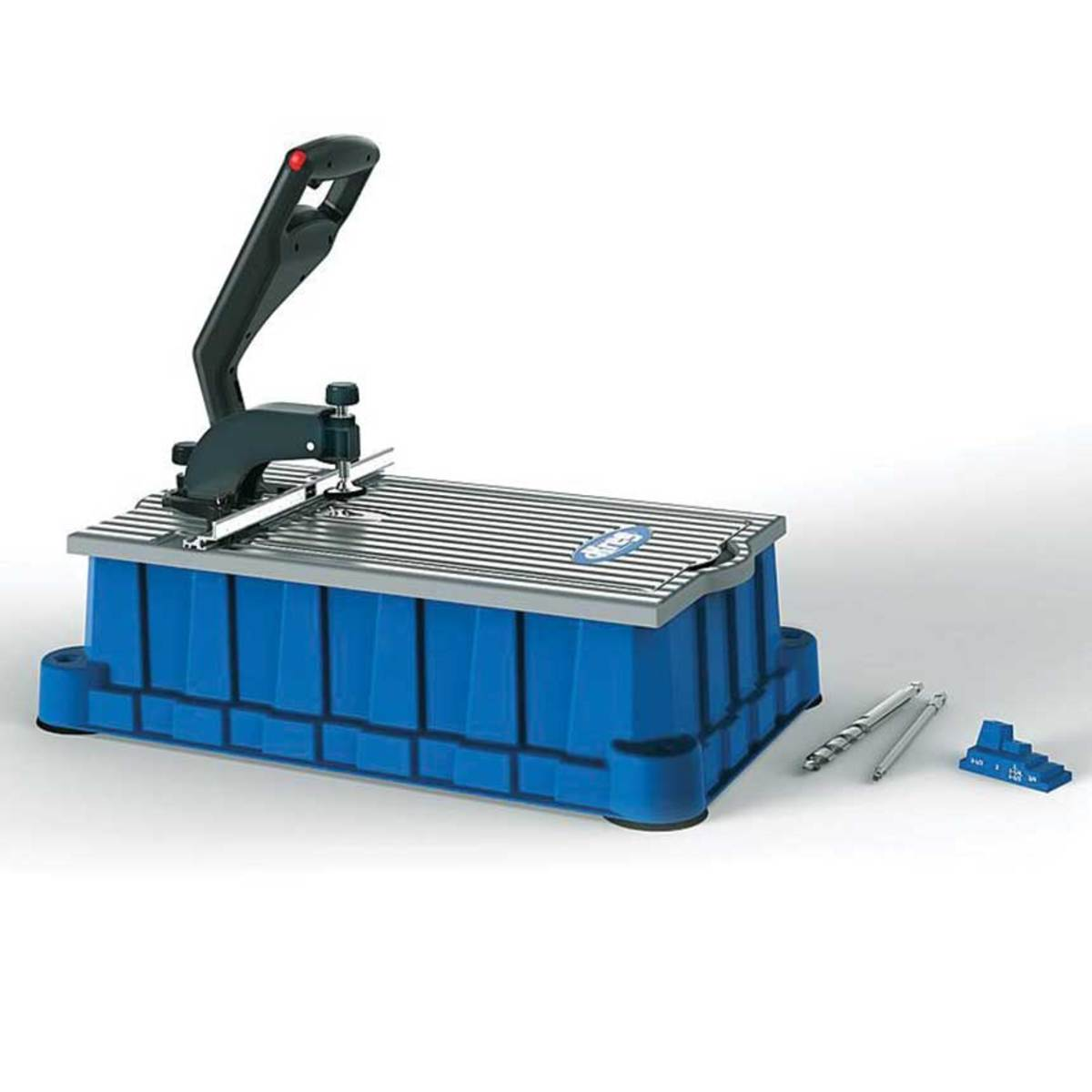Kreg offers the Foreman, a benchtop pocket holemachine for fast, repeatable results.