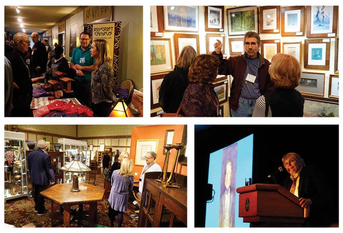 The annual show presents exhibitors, makers and collections to Art & Crafts enthusiasts.