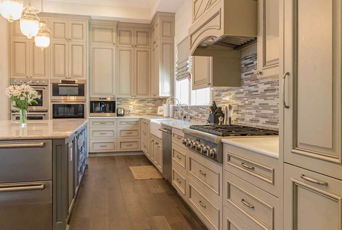 All of the 'modern' kitchens that accompany this article were produced by CDC Woodworking in Pensacola Fla.