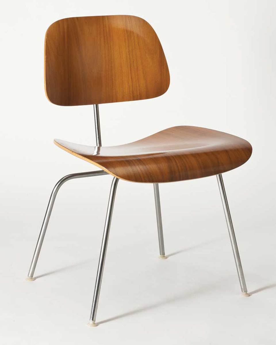 An Eames chair.