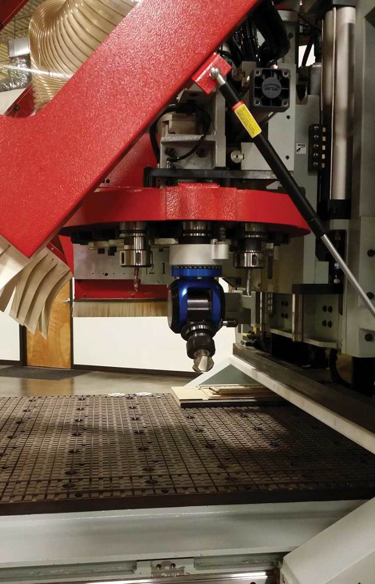 Most aggregate heads work best on short milling or cutting operations.