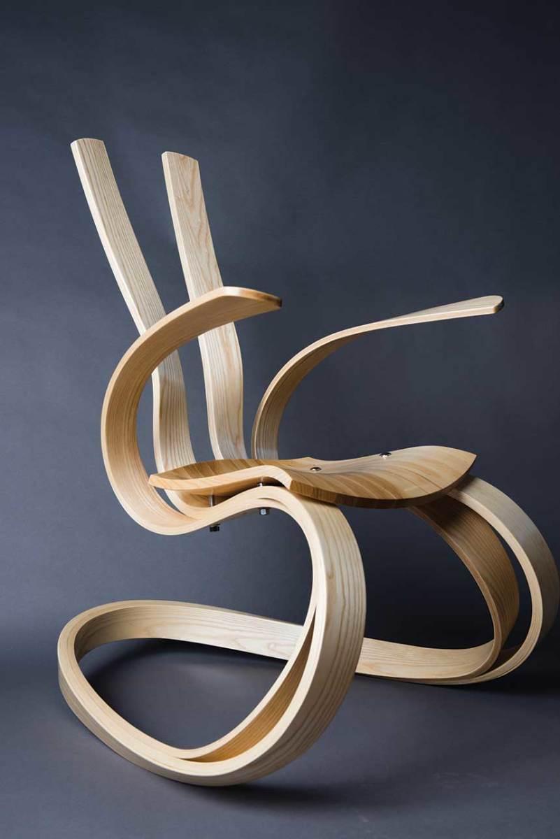 Ribbon Rocker by Joseph Sheehan