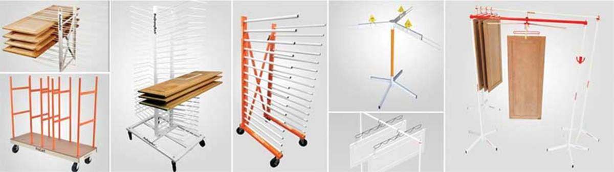PaintLine's offerings include drying racks, material handling solutions, spray stands and more.