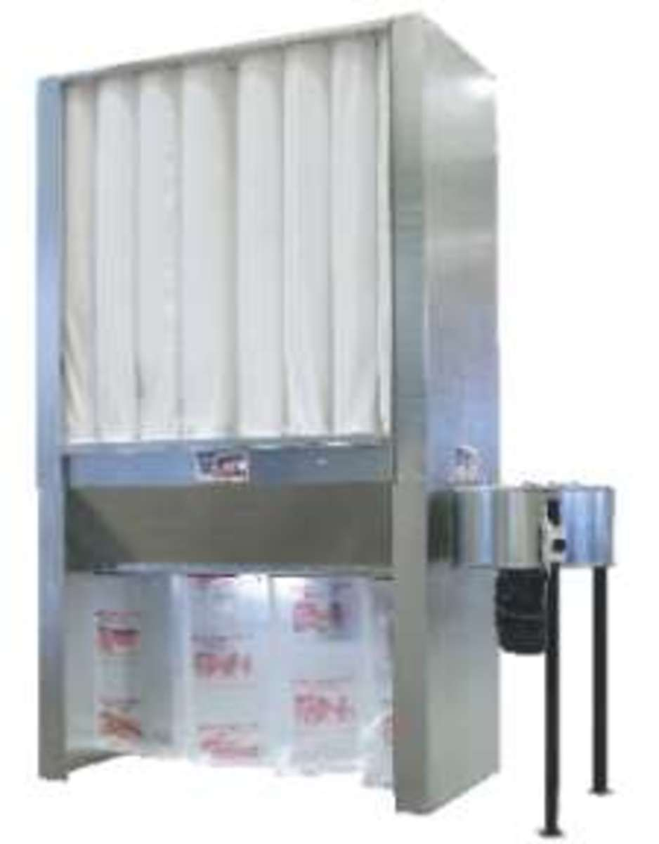 CORAL FM10 READY DUST COLLECTOR PROVIDES LARGE FILTRATION AREA AND NFPA COMPLIANCE
