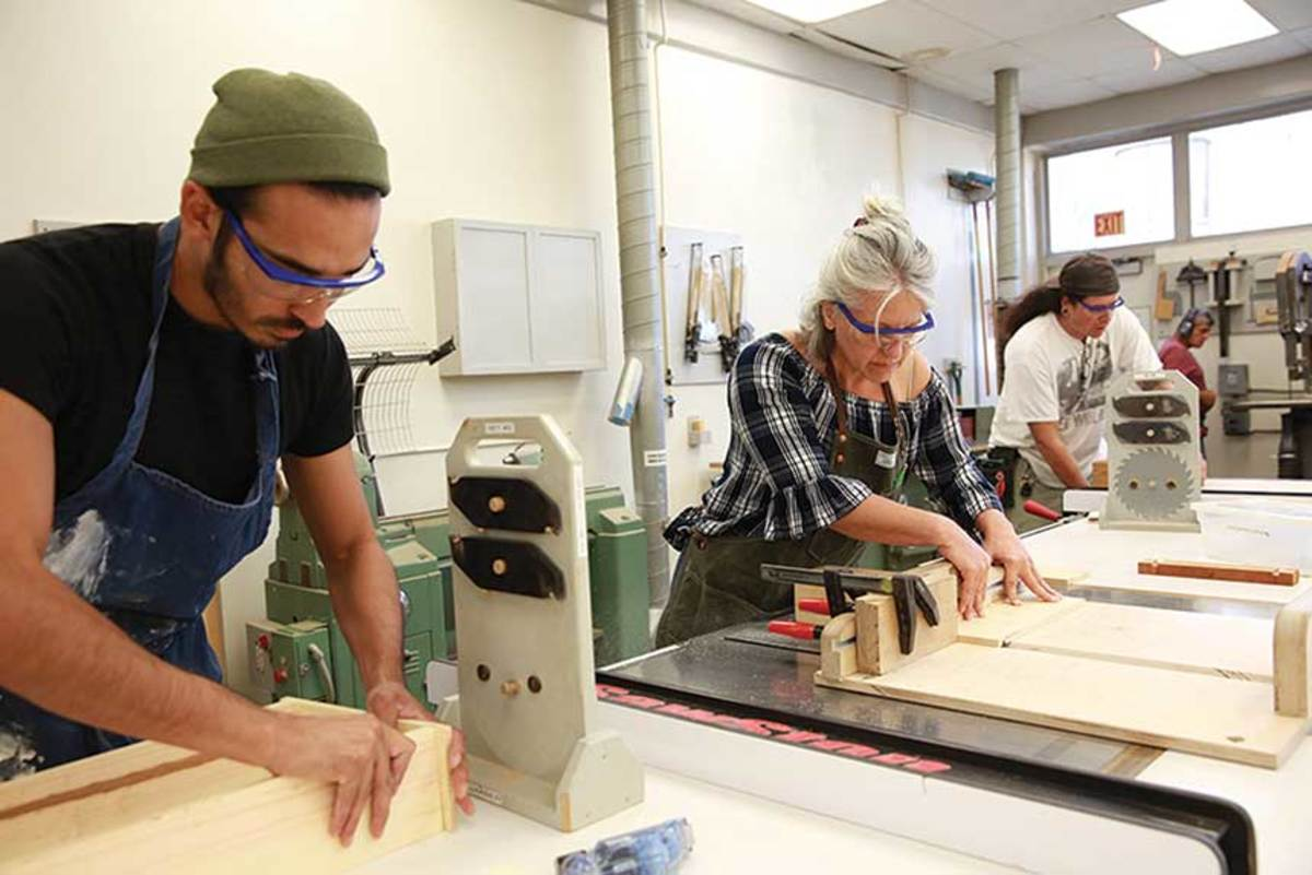 Cerritos College Benefits From Gift To Woodworking Program Woodshop News