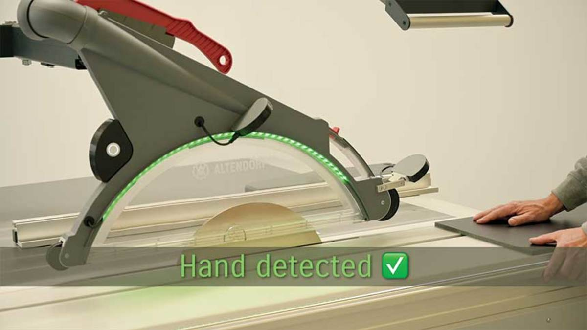 A)-Hand-detected