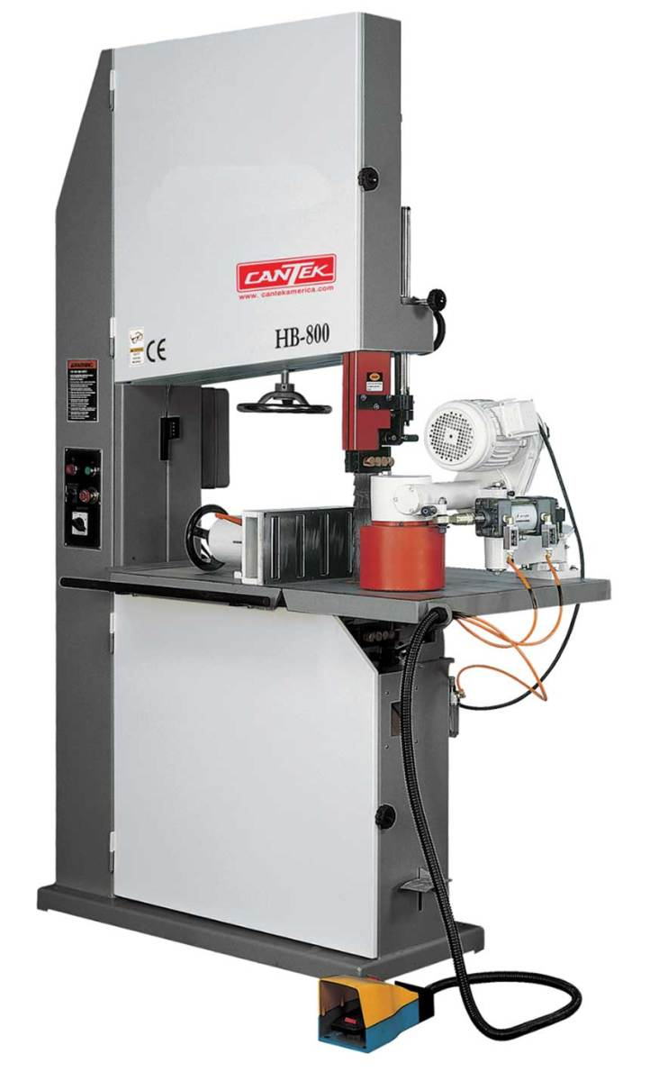 "Cantek HB-800 32"" vertical re-saw."