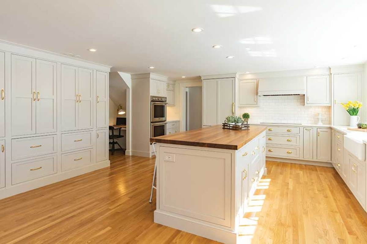 A kitchen by Cedar Crest Cabinetry.