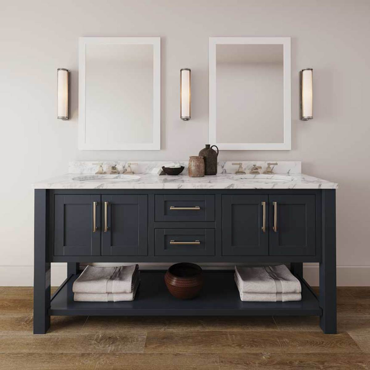 Bathroom vanity from Revolution Furnishings.