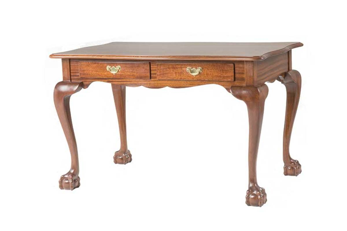 Vanderbilt library table.