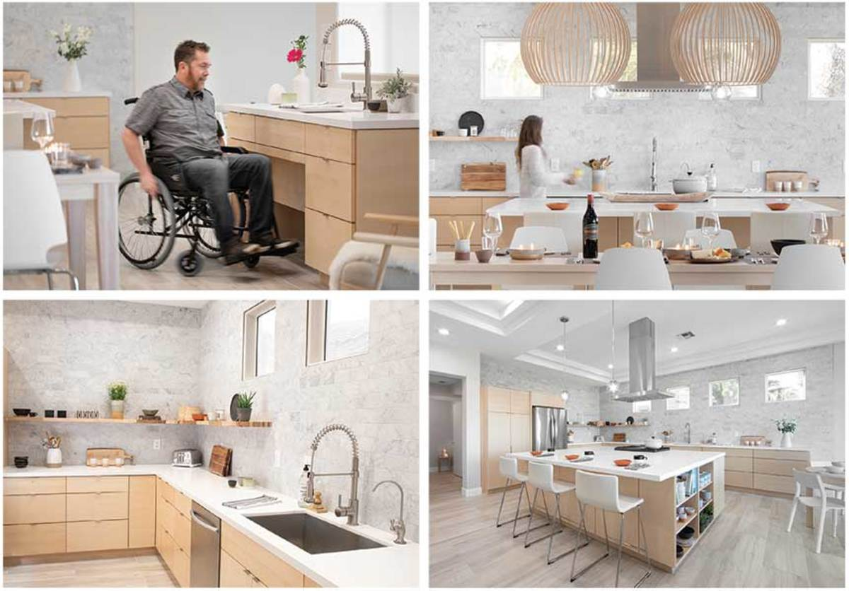 This universal kitchen design by Julie Leverett at One Eleven Ltd. in Las Vegas was the overall winner.