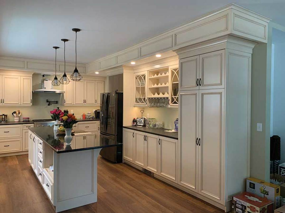 Custom kitchen from From the Heart's extensive portfolio.