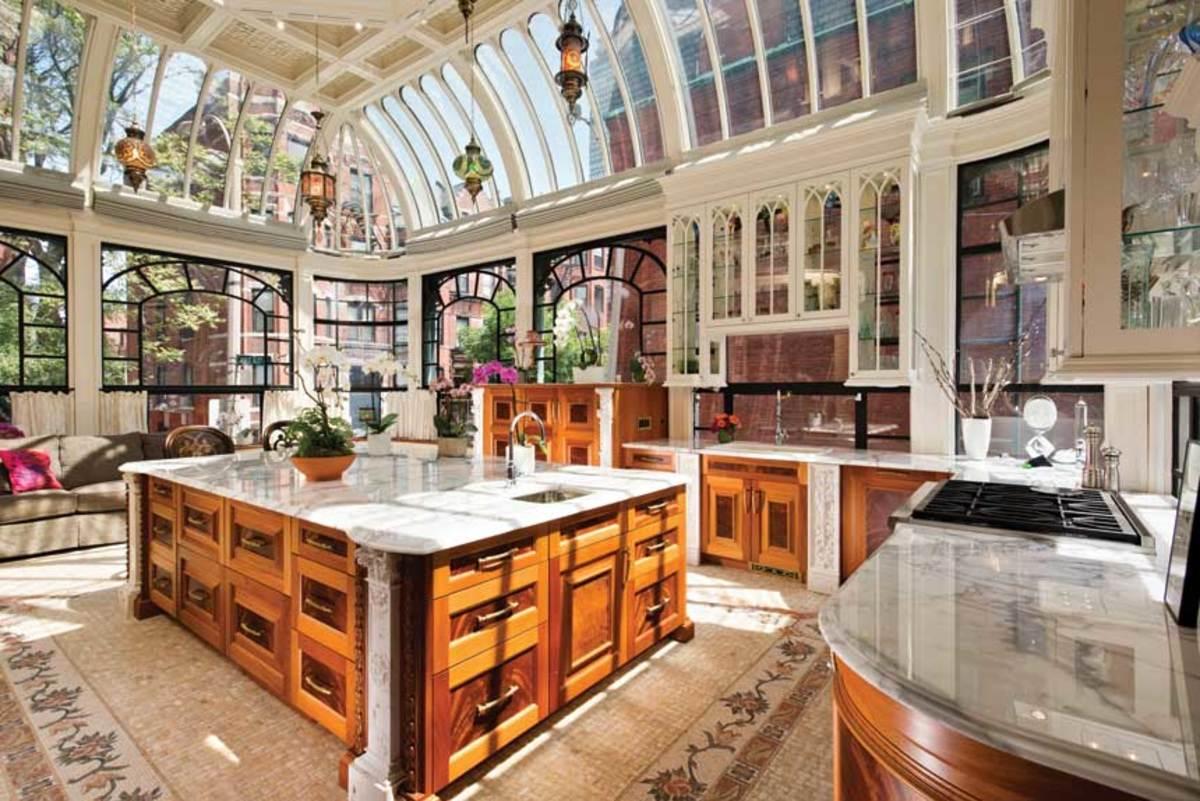 B)-Island-in-skylight-kitchen