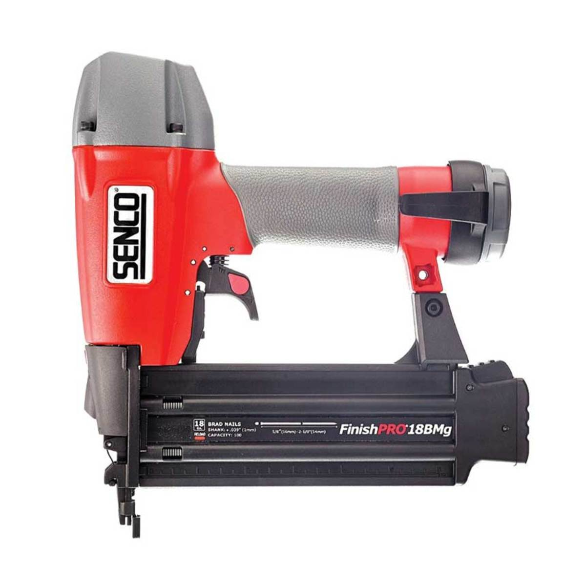 Senco's 18BMg finish nailer.