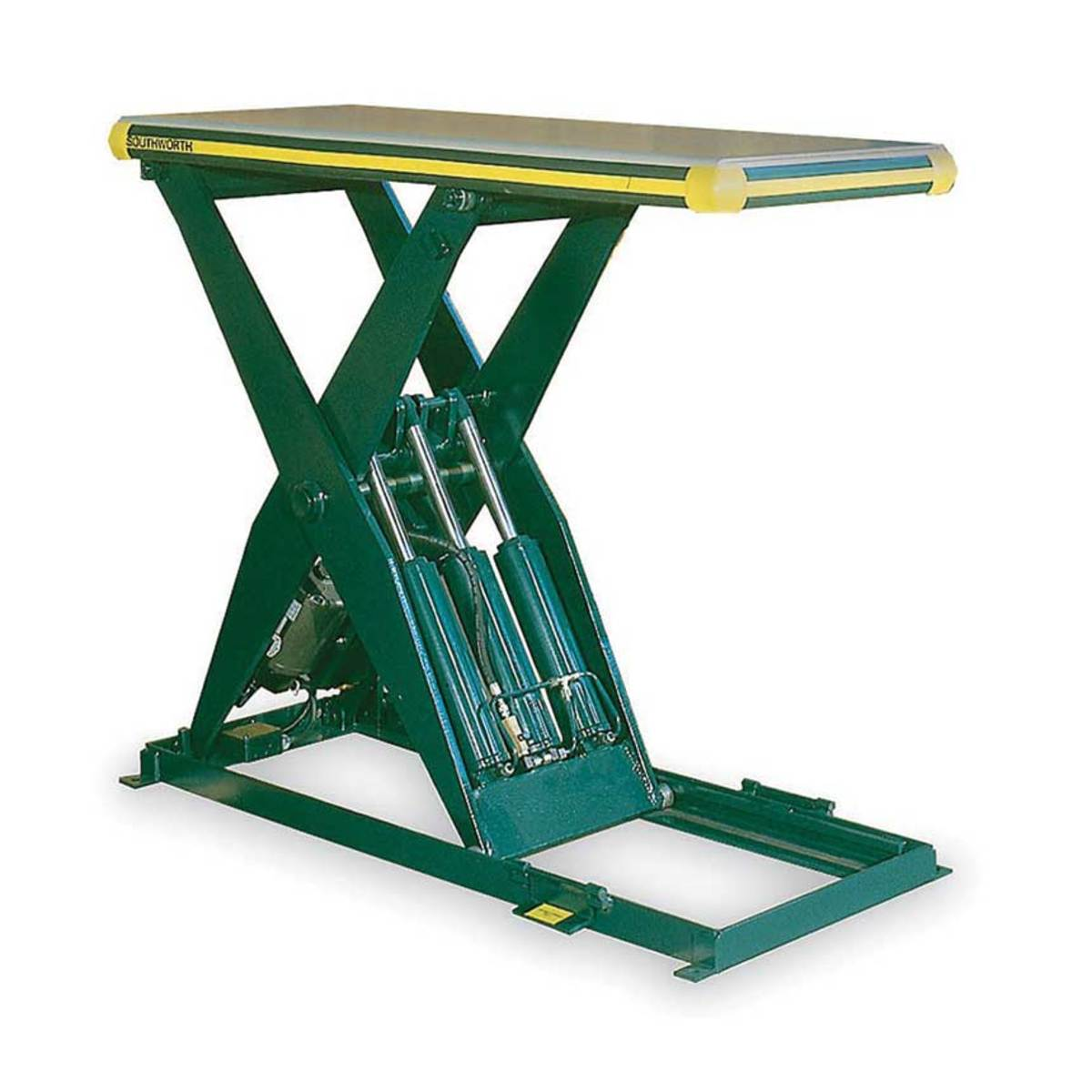 Southworth's Backsaver lift table.