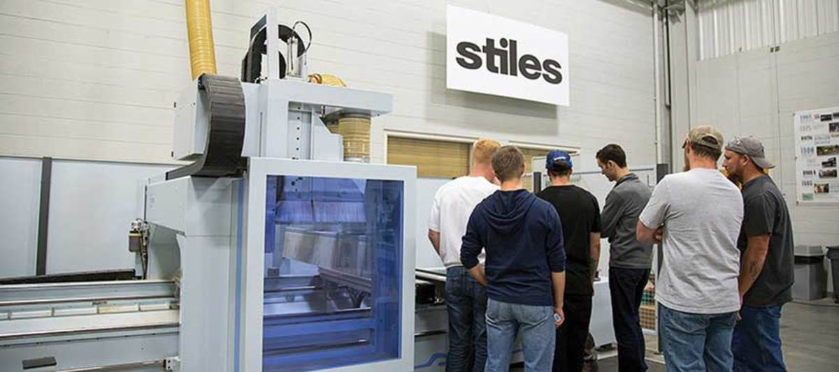 Stiles Machinery offers extensive training opportunities.