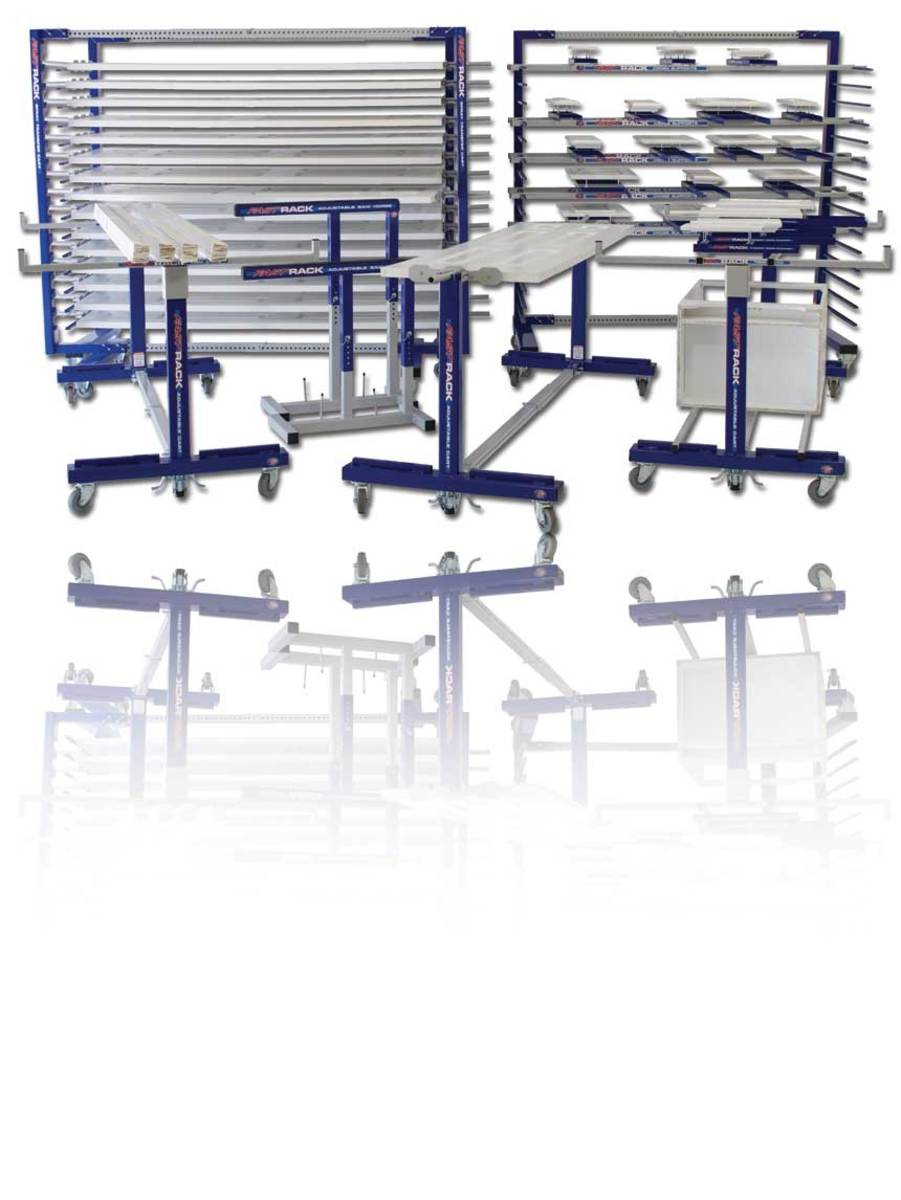 Fast Rack Equipment offers an assortment of products from drying racks to transport carts