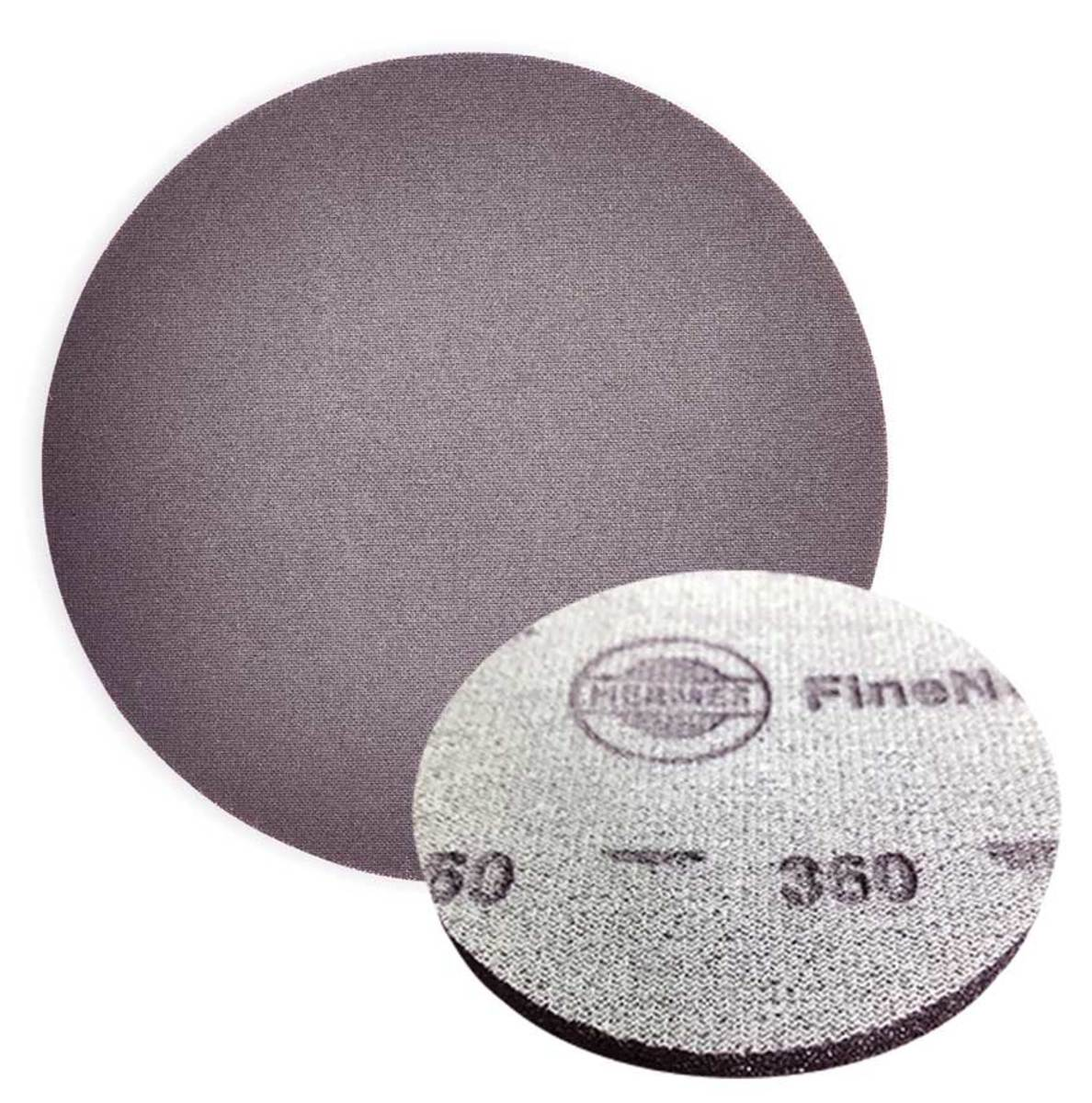 FineNet from Herme Abrasives. Appliactions include fine sanding of clear coat layers before polishing.