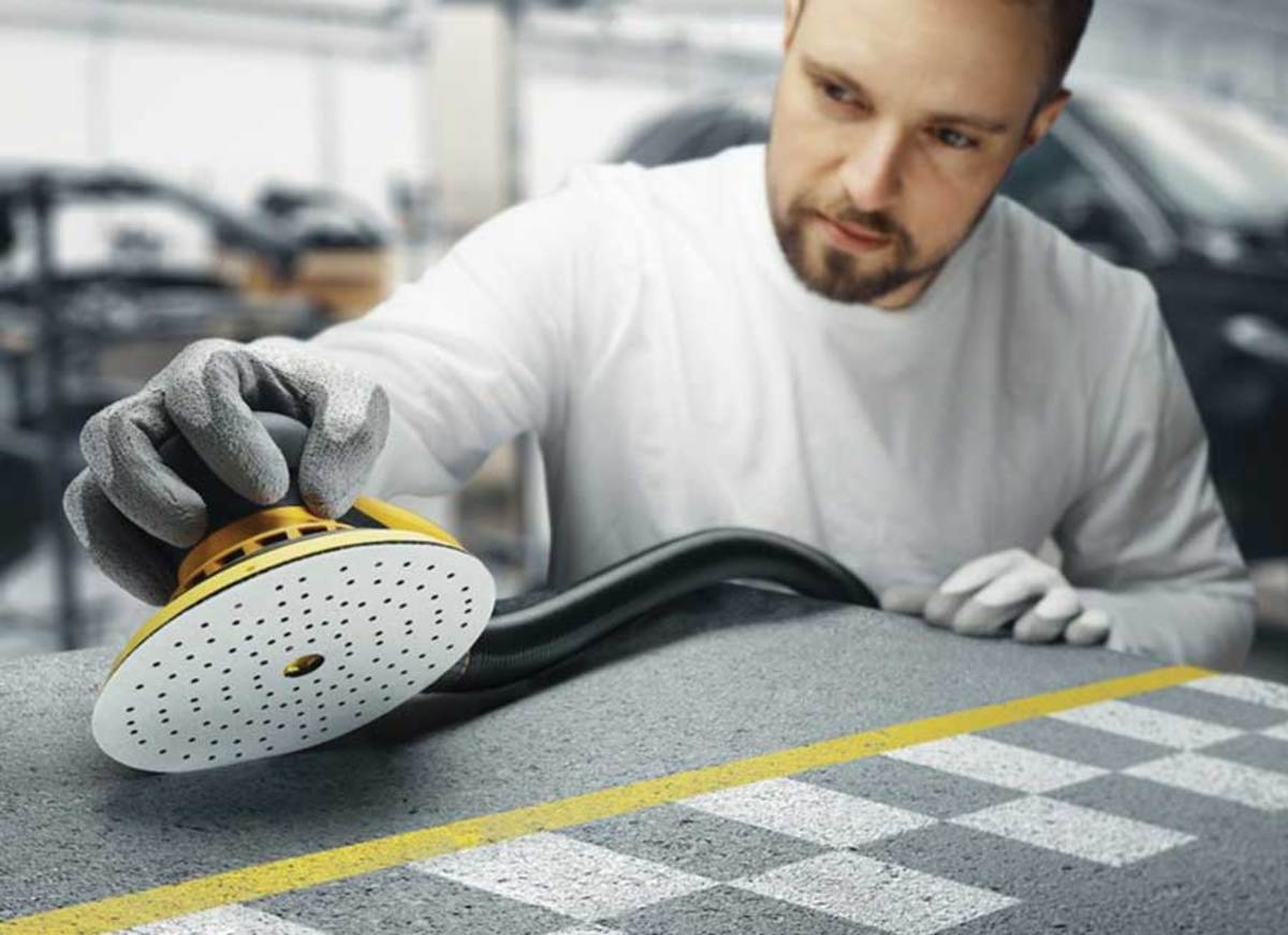 Mirka has introduced paper-backed Iridium abrasives that feature multi-hole patterns for dust extraction.