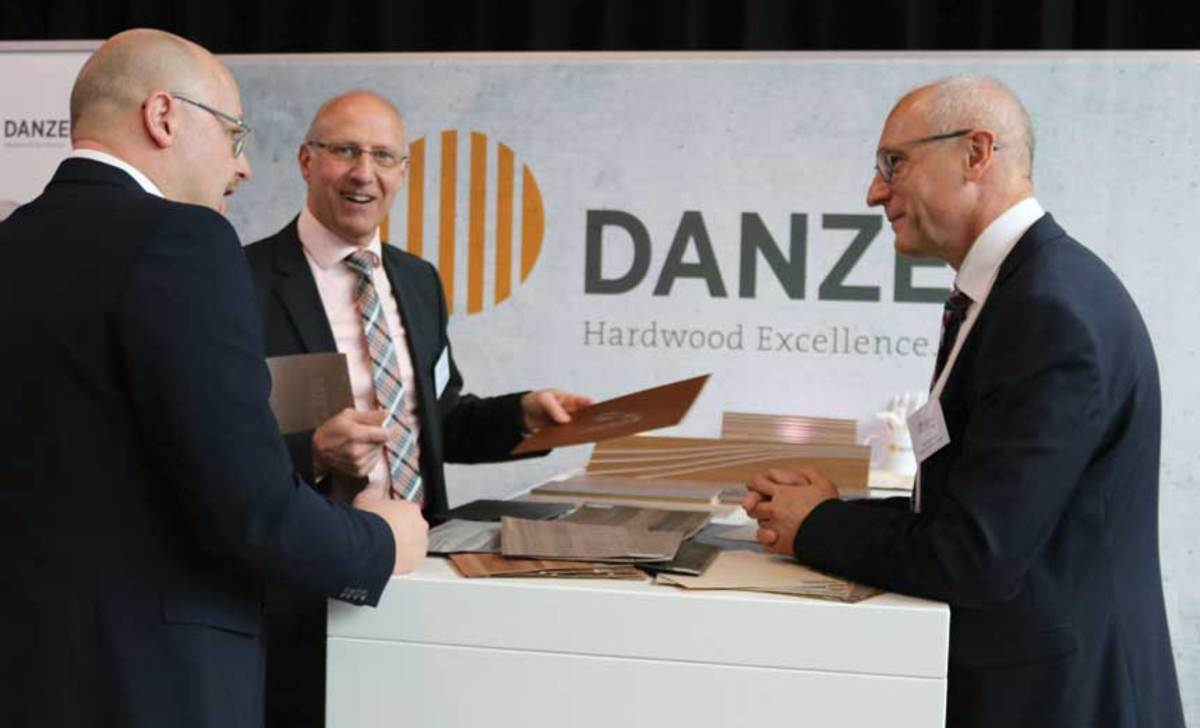 Danzer and its representatives say carmakers are turning to wood for vehicle interiors.