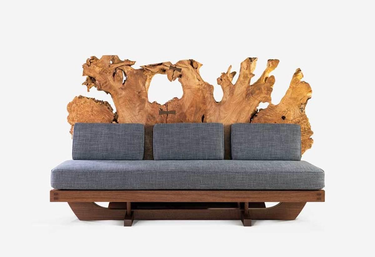 """Tsuitate Sofa"" by Mira Nakashima"