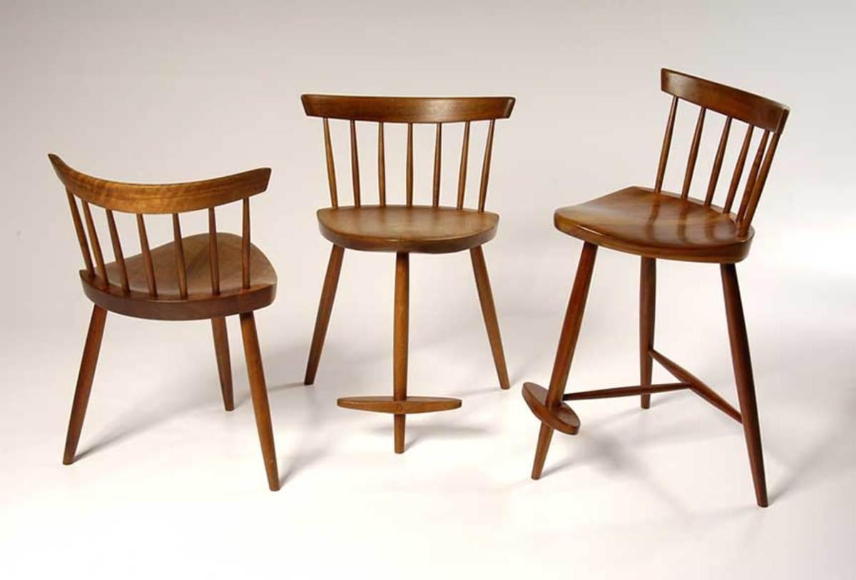 """Mira Chairs"" by George Nakashima"
