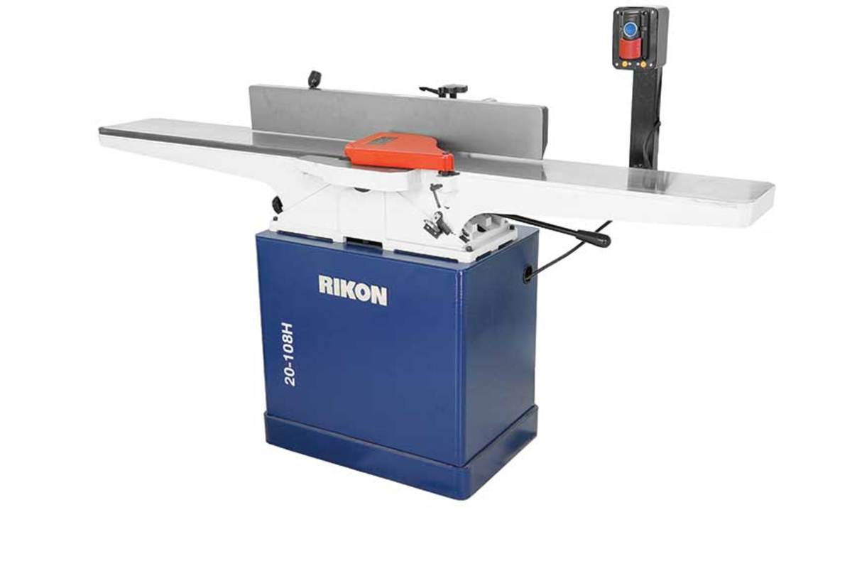 "Rikon's 6"" and 8"" helical jointers."